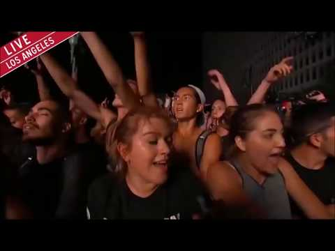 Kanye West Made In America Full Set 2014 LA HD