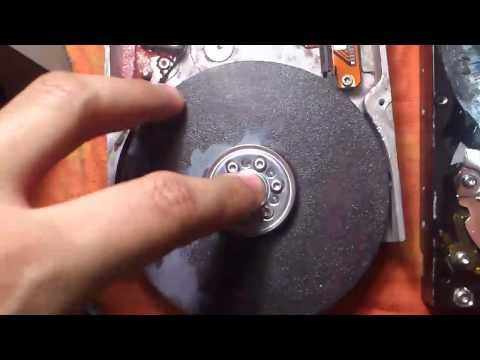 DIY-Reciclado de un disco duro- Amoladora HD