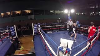 Ultra White Collar Boxing   Milton Keynes Ring 2   George VS Charlie Wattam