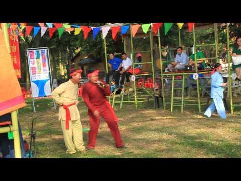 Hát bài chòi - Binh Dinh traditional music - Dong Da festival - Vietnam - Asia