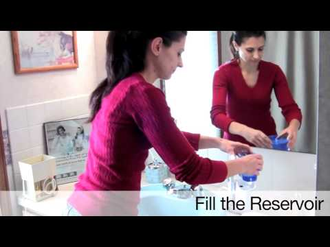 Waterpik Ultra Water Flosser    Dental Professional Shows How To Use