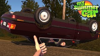 My New Friends Crashed Their Car (Huge Update) - My Summer Car