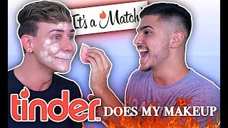 TINDER does my Makeup | Marvyn Macnificent