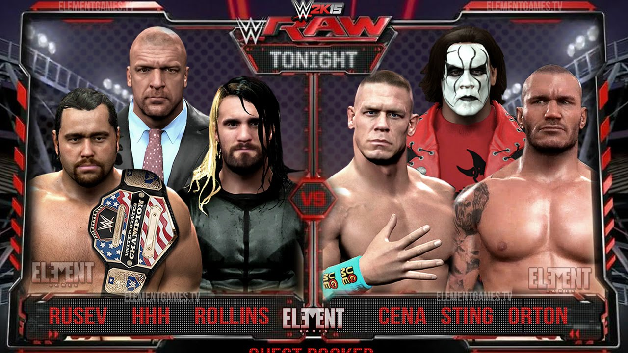Wwe 2k15 Randy Orton vs John Cena John Cena Randy Orton vs