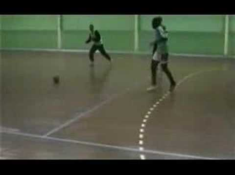 Zidane indoor pitch magic