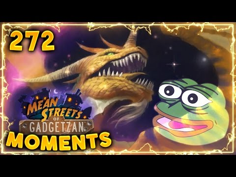 Nozdormu Memes!! | Hearthstone Gadgetzan Daily Moments Ep. 272 (Funny and Lucky Moments)