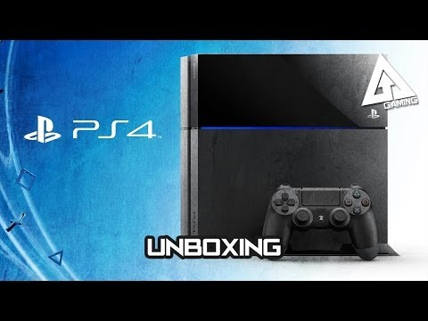 PS4 Unboxing + Red PS4 Controller