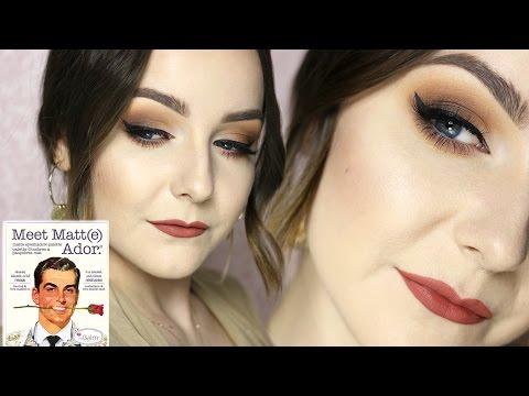 Makijaż Paletą TheBalm Meet Matt(e) ADOR | Milena Makeup