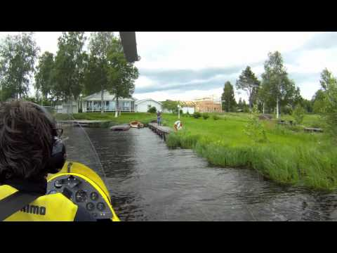 Gyroplane on Floats. Sweden
