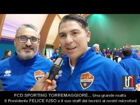VIDEO: Speciale FCD SPORTING TORREMAGGIORE. Ai nostri microfoni Felice Iuso ed i tecnici della società