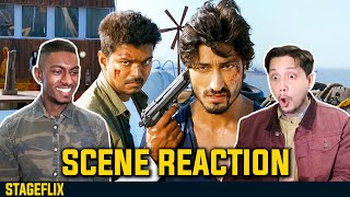 Thuppakki Movie Climax Action Scene Reaction | Vijay Vs Vidyut | by Stageflix