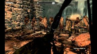 Skyrim - Violence and Glitches