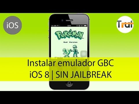 Instalar emulador GameBoy Color para iOS 8 SIN jailbreak, Tutorial en Español