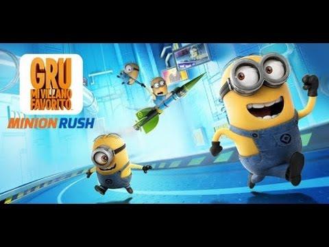 Descargar Minions Rush el juego de Mi Villano Favorito para Android Full .APK