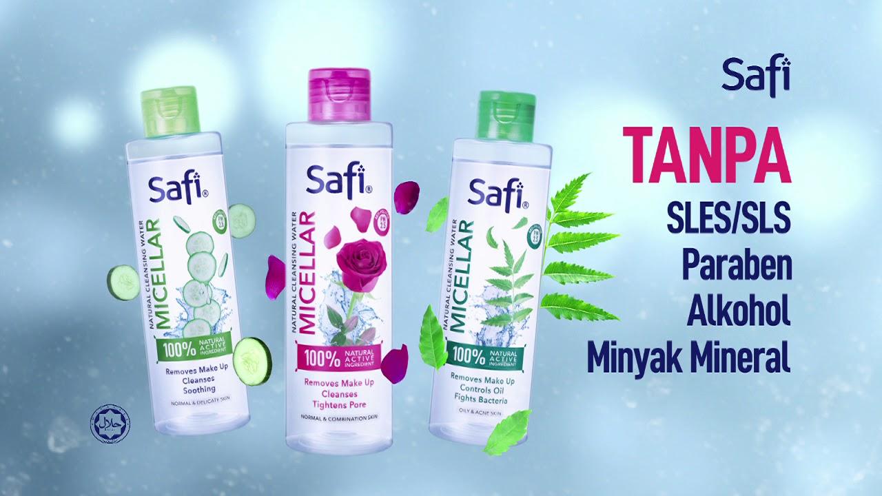 Pembersih Solekan SAFI Micellar Water