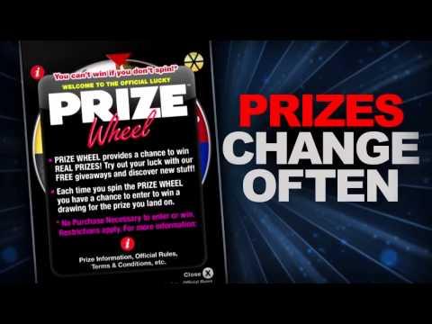 Prize Wheel App Trailer