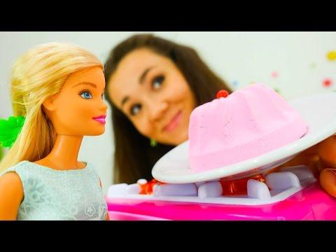 Куклы Барби - День Рождения. Игрушки для девочек.