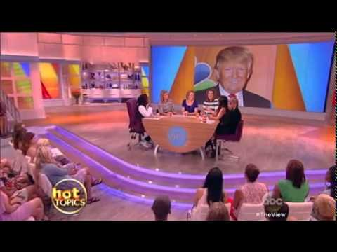 On The View Carly discusses Hillary, feminism and her pro-life views