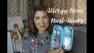 Allergy Mom Must-Have Gear | Epi-Pen Cases, Alert Bracelets & More