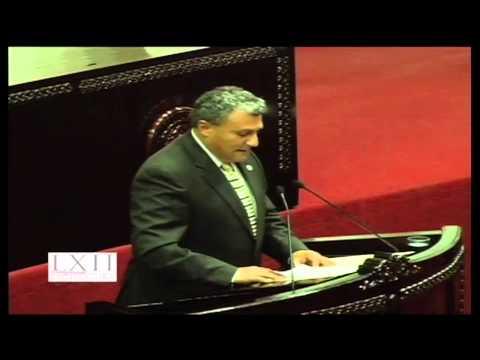 #SesiónOrdinaria Defiende Jorge Rosas exhorto para solicitar más recursos para Tulancingo