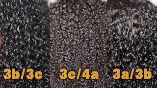 3 DIFFERENT HAIR TYPES USING 1 PRODUCT