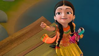 Aata gache tota pakhi  | Bengali Rhymes for Children | Infobells