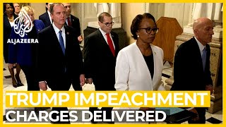 Trump impeachment charges formally handed over to Senate