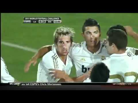 LA Galaxy (1-4) Real Madrid Highlights Club Friendlies