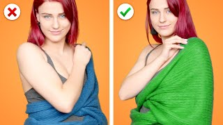 Awesome Fashion Hacks: 31 Way to Wear a Scarf