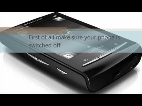 Sony Xperia Mini factory reset