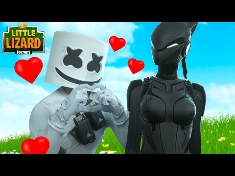 Download MARSHMELLO FALLS IN LOVE WITH LYNX!!! - Fortnite Short Films Mp4 baru