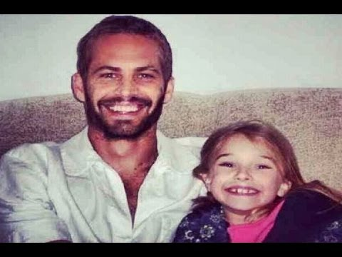 La hija de Paul Walker se despide de su padre