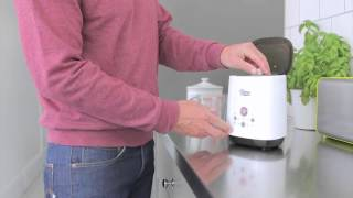 How to warm breast milk with Tommee Tippee Pump and Go