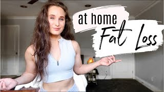 How To LOSE FAT AT HOME | Weight Loss Tips & Tricks