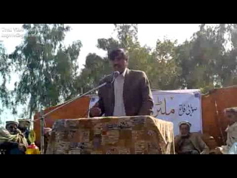 Kaddi High School Sikandar Irfan Speech