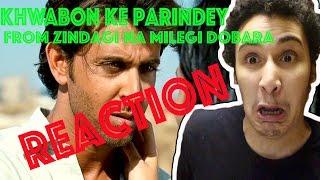 Khwabon Ke Parindey (Full Song) from Zindagi Na Milegi Dobara REACTION!!