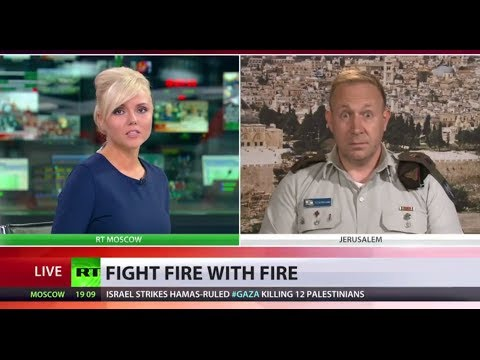 IDF spokesman defends Israeli military op 'Protective Edge' in Gaza on RT