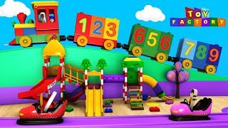 Number Train for children - Toy Factory - Chu Chu Train - trains for kids - Train cartoon for kids