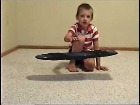 Remarkable hoverboarding video!