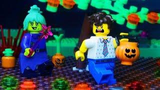 Lego Halloween Costumes Prank Fail - Lego City Monsters