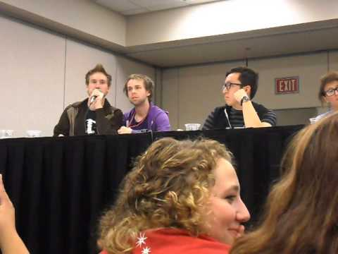 Starkid Panel LeakyCon 2012 Chicago Full Video Post AVPSY Part 2