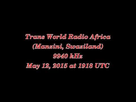 Trans World Radio Africa (Manzini, Swaziland) - 9940 kHz