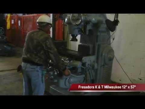 Fresadora K&T Milwaukee 12