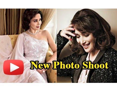 Madhuri Dixit Nene's Elegant Photo Shoot For A Magazine Cover- PHOTOS