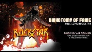 Rockstar - The Dichotomy of Fame Instrumental Song | Rockstar | Ranbir Kapoor, Nargis Fakhri