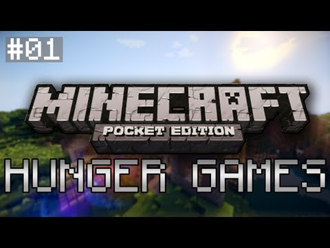HUNGER GAMES - Minecraft Pocket Edition - Ep. 01