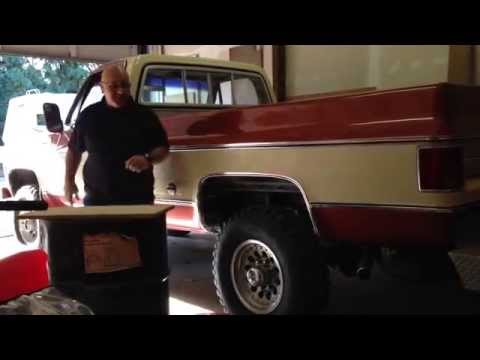 1978 Chevy Truck k20 4X4 - Big Block 454 - Cold Start