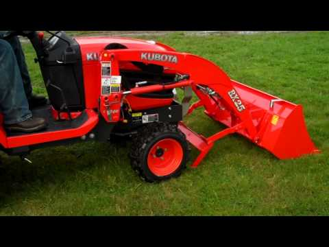 Kubota BX-Series Loader Removal