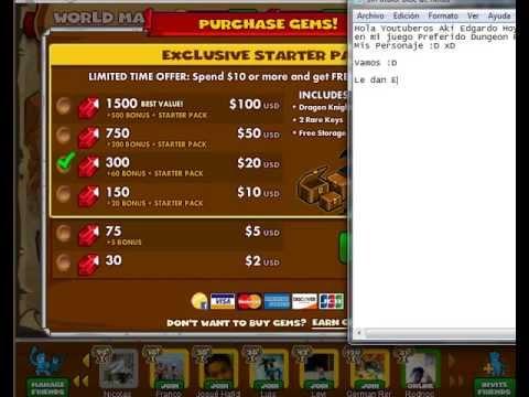 Title: Como conseguir Gemas Gratis en el juego Dungeon Rampage de