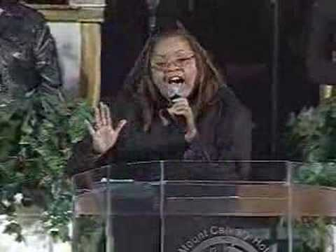 Stay there till it works out - Co-Pastor Susie Owens Video